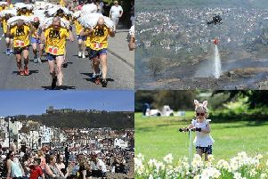 These pictures perfectly capture some of the events around Yorkshire over the Easter break