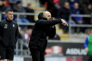Rotherham United manager, Paul Warne. Picture: Simon Hulme.