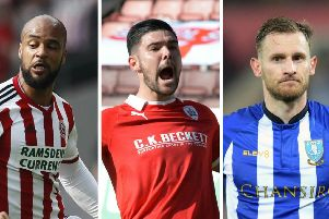David McGoldrick, Alex Mowatt and Tom Lees