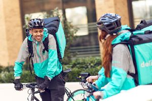 Deliveroo is hiring now ahead of launching in Chesterfield next month