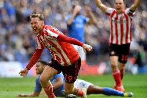Aiden McGeady was named the Sunderland BLC's player of the year on Tuesday night