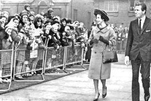 Doncaster Museum and Art Gallery opening with Princess Margaret and Lord Snowdon, 1964.