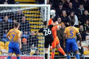 Stags have conceded just 30 goals in the league this season.