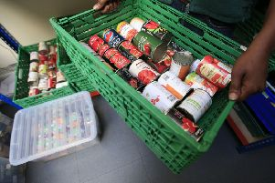 The number of emergency supplies handed out by food banks in North Yorkshire has risen over the last year, figures from a leading charity show.