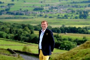 Gary Verity, the former chief executive of Welcome to Yorkshire, who resigned in March on health grounds following allegations over his expense claims and behaviour towards staff. Picture by James Hardisty.