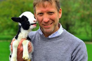 Yorkshire vet Julian Norton's new book On Call with a Yorkshire Vet is published next month by Great Northern Books. Picture by Gary Longbottom.