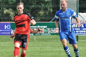 Jonny Hothersall scored a hat-trick for Garstang in their final game