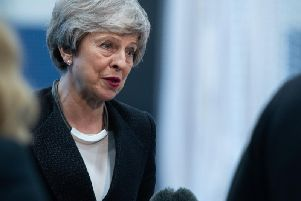 Prime Minister Theresa May has defended her Government's record on tackling inequality and social mobility despite damning findings in a new report by the Social Mobility Commission. Picture by Kelvin Stuttard.