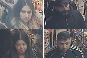 Police would like to speak to these four people in connection with a Dewsbury burglary.