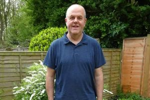 Michael Short who has lost more than three stone
