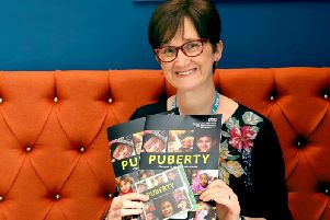Schools nurses Anne Mulligan enlisted school children to helps make a film about puberty starring her own daughter