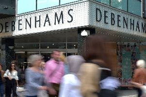 Debenhams will remain in the hands of its lenders. Photo: Nick Ansell/PA Wire