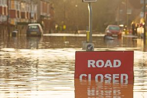 Floods could force communities to move according to the EA. Photo: Shutterstock