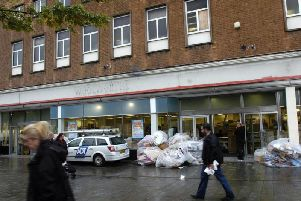 The former Woolworths store in St Helens town centre