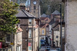 "Date: 14th March 2019.'Picture James Hardisty.'YP Magazine.'Feature of Artisan Food businesses in Malton, Yorkshire�""s Food Capital. Pictured Yorkersgate, Malton."