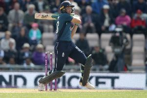 Dominant:  Jos Buttler smacked a 50-ball century as England won a high-scoring second one-day international with Pakistan in Southampton. (Picture: Adam Davy/PA)