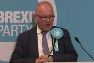 Andrew Allison is the Brexit Party's candidate for the European elections in Yorkshire and the Humber. Credit: Facebook