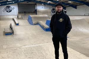 Jack Plowman managing director of Asylum Academy for Extreme Sports in Huthwaite.