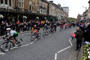 The Tour de Yorkshire passed through Harrogate earlier this month.