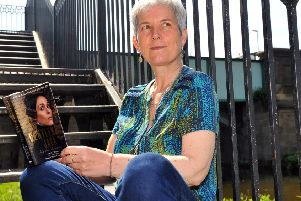 Anne Choma has written a fascinating new book about the life of Anne Lister (Picture: Gary Longbottom).