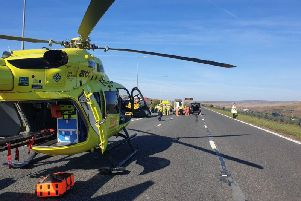 Chris Edmonson, 31, sadly died after being airlifted to hospital following a crash on the M62.