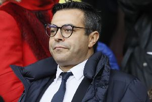 Andrea Radrizzani: Backing Leeds to bounce back.