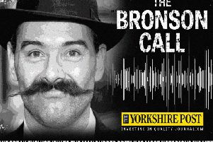 Charles Bronson has spoken exclusively to the Yorkshire Post