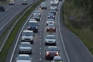 The A64 in Yorkshire