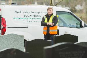 Ribble Valley Council is stepping up patrols in Clitheroe Cemetery and other dog fouling grot spots