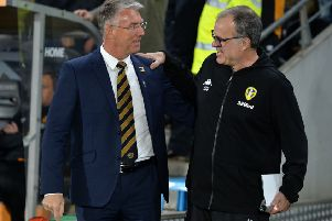 The futures of Hull City's Nigel Adkins, left, and Leeds United's Marcelo Bielsa have yet to be decided (Picture: Bruce Rollinson).