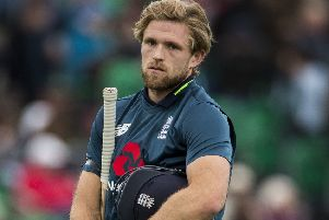 England's David Willey: Left out.