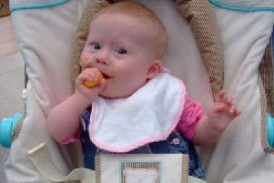Little Summer Morrell was just nine-months-old when she passed away.