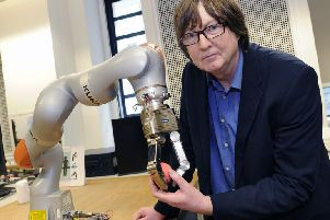 Robotics work at the University of Sheffield is among its research projects to win funding.