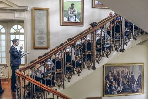 Michelin-starred Yorkshire chef Tommy Banks cooks in the famous Long Room at Lord's