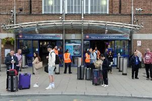 Train customers are being advised to make alternative arrangements
