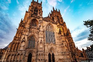 The gothic glory of York Minster. (Picture: Shutterstock)