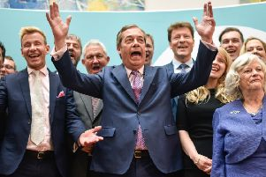 What is the political future of Nigel Farage and the Brexit Party?