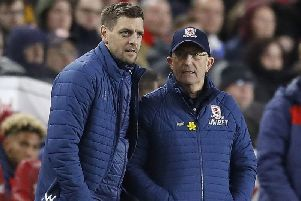 Jonathan Woodgate and former Boro manager Tony Pulis.
