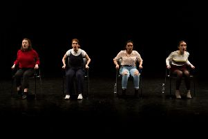 Basic Training, Theatre Performance Group, for Lancaster University's 2019 Degree Show, 'Coordinate'.