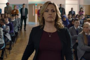 Jo Joyner stars in Ackley Bridge.