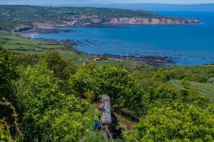 Date: 21st May 2019.'Picture James Hardisty.'YP Magazine.......Ravenscar, near between Whitby and Scarborough on the East Yorkshire Coast made famous by Victorian developers who planned a new Yorkshire resort with its very own coastal train line, large hotel and a number of built plots for sale. In the end the resort was never completed - hence the tag 'The Town That Never Was' - and the railway line finally closed in the 1960s. A couple from Malton, North Yorkshire Amanda Batcheler and Marcus Aldrich, have spent the last three years researching the history and wrote a book about Going Once..Going Twice..Going Wrong..about this forgotten seaside town.