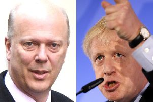 Transport Secretary Chris Grayling is backing Boris Johnson in the Tory leadership race.