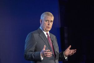 The Duke of York as he hosts a Pitch@Palace event at Buckingham Palace in London on Wednesday June 12, 2019. The Duke founded Pitch@Palace to help and accelerate the work of entrepreneurs. Picture by Steve Parsons/PA Wire.