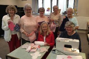 Members of Lytham, The Drive, Church Road, and Fairhaven churches are collecting toiletries and making reusable sanitary pads to help young girls at Methodist High School-Bo in Sierra Leone