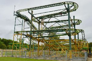 The rollercoaster at Lighwater Valley.