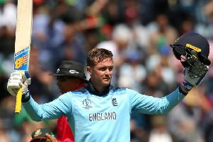 No 1 opener: England's Jason Roy.