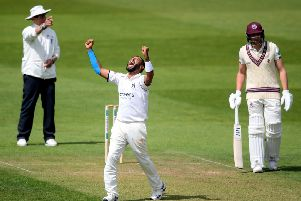 Back home: Warwickshire's Jeetan Patel returns to the ground where he played his club cricket. Picture: Alex Davidson/Getty Images