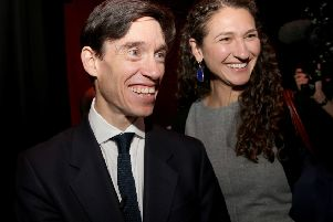 International Development Secretary Rory Stewart, pictured with his wife Shoshana, is an intriguing contender in the Tory leadership.