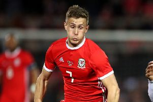 Will Vaulks: Rotherham and Wales midfielder subject of a bid from Cardiff City. (Picture: PA)