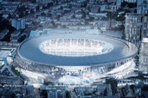 Severfield provided steel for Tottenham Hotspur FC's new stadium